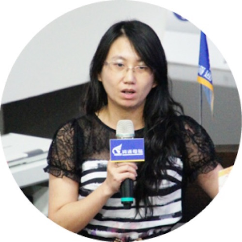 Celeste Huang, senior technical manager of Ares, explained how Analyzer integrates with ERP.