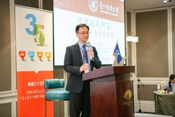 "Po-Li, Wei, director and attending doctor of General Surgeon of Taipei Medical University Hospital, shared ""Health is wealth— Colorectal cancer prevention and health management""."