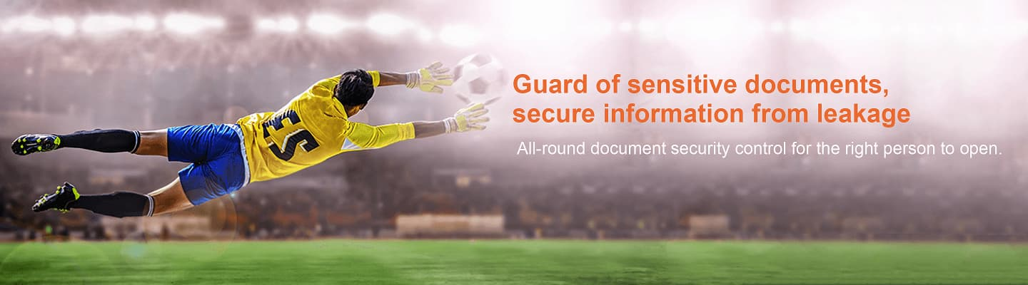 Guard of sensitive documents, secure information from leakage