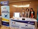 企業代表們對資通電腦展示的 HCP 表達高度興趣。