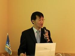 活動由資通電腦總經理林聖懿開場致詞揭開序幕。