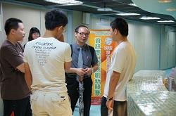參學生隊伍與講師對 ARES uPKI 安控元件的實務應用進行熱烈討論。