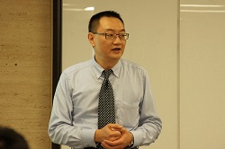 Vice President Ivan Lee of Ares explained the future of HCP.