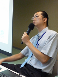 Tsu-Chi Lo, R& D program manager of Ares, introduced ARES uPKI security control component, application examples and Taiwan PKI application environment at the course.